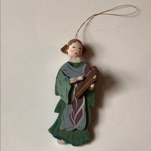 *6 for $30* painted harpist Christmas ornament